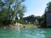 Badeplatz für Gäste am Attersee