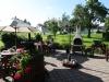 Pension Knoll - Terrasse und Garten