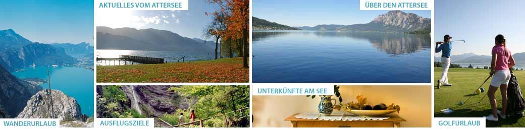 Urlaub im Herbst am Attersee