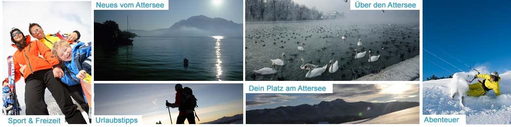 Ferien in der Ferienregion Attersee im Salzkammergut, Oberösterreich in vol