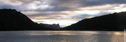 ost west ufer attersee