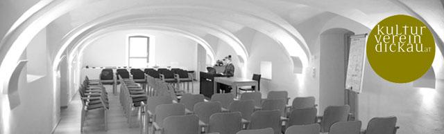 Kulturverein Dickau - Ein restaurierter Kuhstall als Location für literarische Events am Attersee