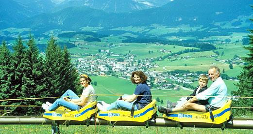 (c)karkogel.com - Freizeit Tipp: Sommerrodeln in Abtenau am Karkogel