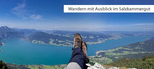 Wandern im Salzkammergut - Wanderrouten mit Ausblick | (c) Attersee_Panorama - (c) TV Ferienregion Attersee