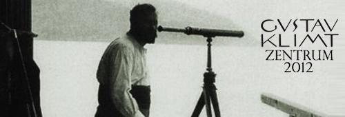 Maler Gustav Klimt am Attersee