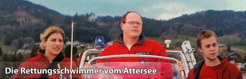 Attersee Wasserrettung / v.r. M.Ragginger, C.Bauer, F. Neubacher (c) AK Report Mai/Juni 2012