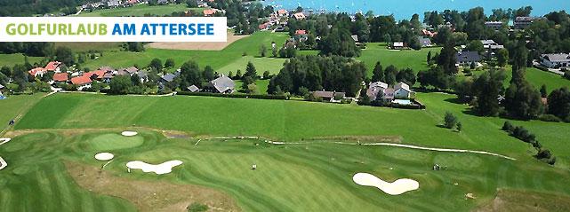 Golfurlaub am Attersee