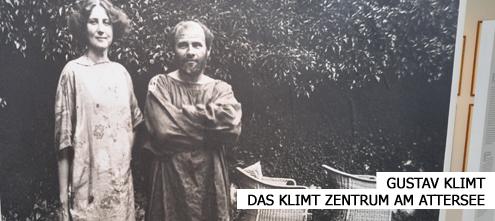 Ausstellung im Klimt Zentrum am Attersee