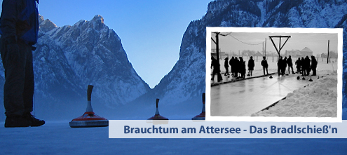 Eisstockschießen - Brauchtum am Attersee