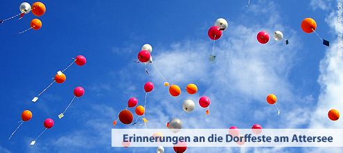 Dorffeste am Attersee