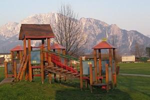 Kinderspielplatz in Unterach am Attersee