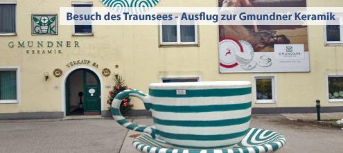 Ausflugsziele Gmundner Keramik Manufaktur