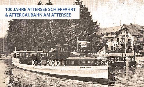 Attersee Schifffahrt 1913 (c) atterwiki.at