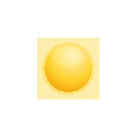 sonnig Symbol