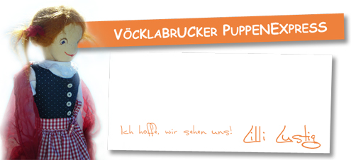 Musikalisches Puppentheater am Attersee mit Lilli Lustig