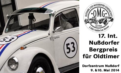 17. Internationaler Nußdorfer Bergpreis für Oldtimer (Gerold-Klinger-Gedächtnis-Trophy)