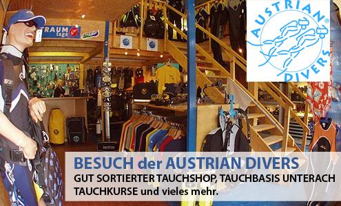 Austrian Divers - Tauchbasis, Shop & Tauchkurse in Unterach am Attersee