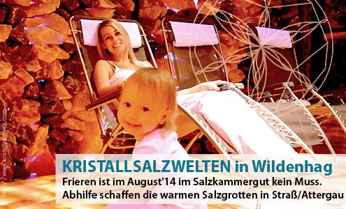 Kristall Salzwelten in Wildenhag im Attergau